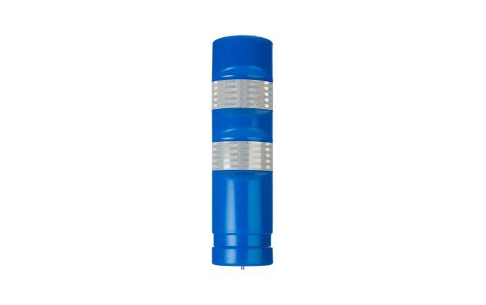 Blue Traffic Delineator Post