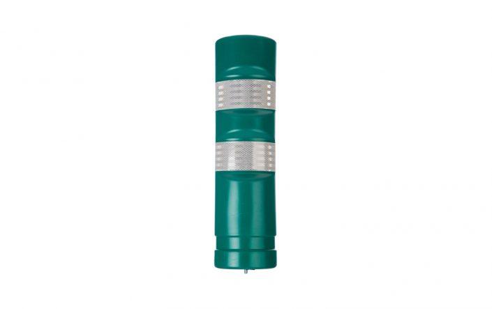 Green Traffic Delineator Post