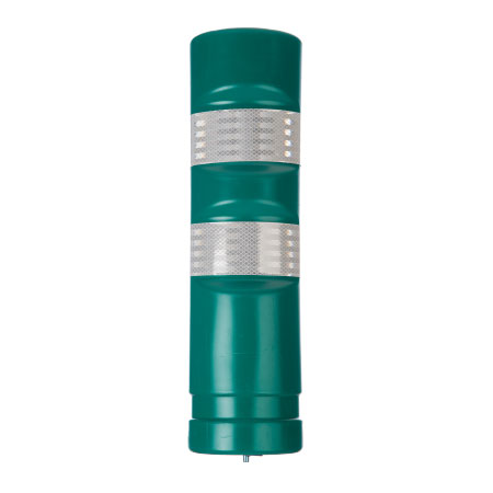 Green Traffic Delineator Post H-75