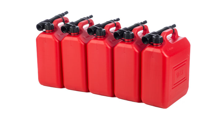 Jerrycans 10 liters