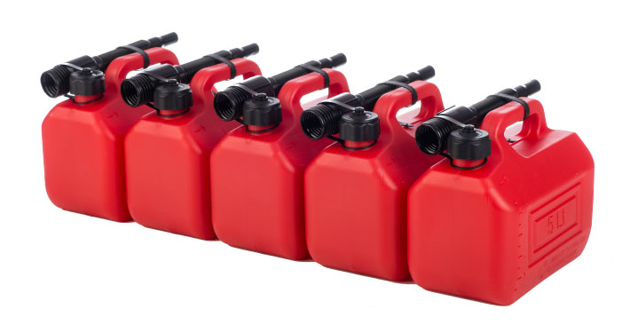 Jerrycans 5 liters