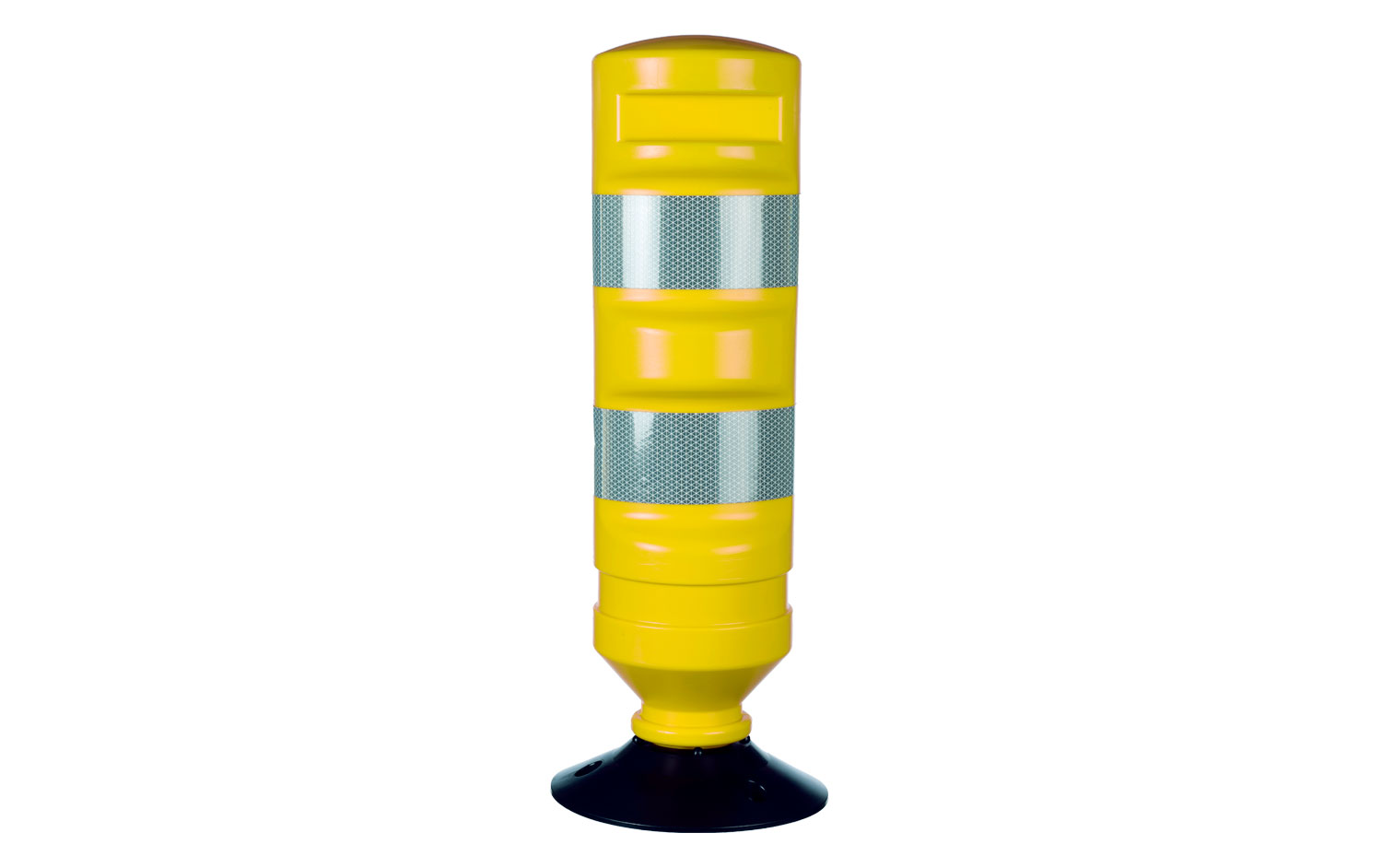 Yellow Traffic Delineator With Base