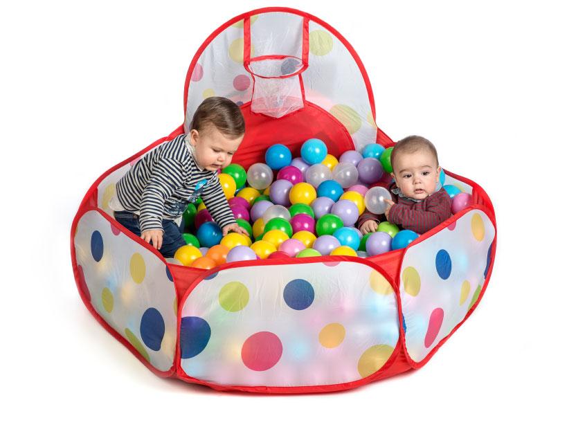 balles de couleur douce pour les piscines de jeux pour enfants